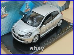 1/18 Renault Sport Clio III RS 2006 Gris Makaha Solido ref 8195 Comme neuf