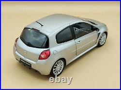 1/18 Renault Sport Clio III RS Gris Makaha 2006 Solido ref 8195 No Box