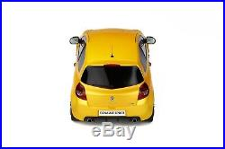 1/18 ottomobile Renault clio 3 rs phase 2 sport cup 2010 neuf livraiS gratuite