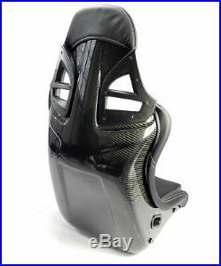 2 Charbon Sièges Sport Im 997-gt3-look Cuir Noir, Couture Blanche Charbon