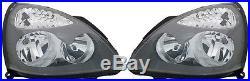 2 Feux Phare Optique Avant Grey Renault Clio 2 II Sport 06/2001-05/2005