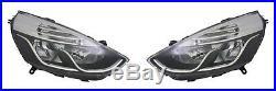 2 Optique Avant + Moteur Clear Renault Clio 4 IV Grandtour Pack Sport 11/2012