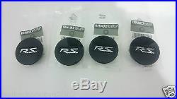 4 Centres De Roue Jantes Centre Caps Renault Sport Megane Laguna Clio Twingo Rs