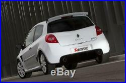 Akrapovic Inox Duplex Échappement Sport Renault Clio 3 Rs Embout D'Échappement