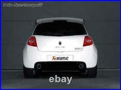 Akrapovic Inox le Sport Échappement Duplex Renault Clio 3 Rs Chaque 1x Rond De