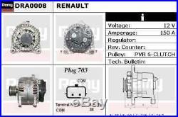 Alternateur Neuf pour Renault Clio III 2.0 16V Sport 2006- Sur