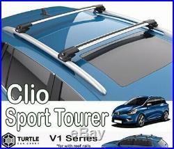 Barres de toit Renault Clio III Sport Tourer transversales Turtle V1 EN STOCK