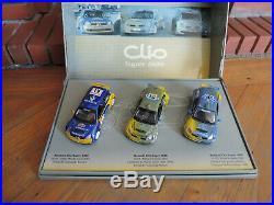 COFFRET RENAULT SPORT CLIO SUPER 1600 RALLYE 1/43 UNIVERSAL HOBBIES 3 clio