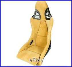 Charbon Sport Siège dans 997-GT3-LOOK Alcantara Beige Charbon
