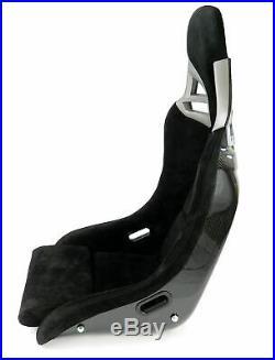 Charbon Sport Siège dans 997-GT3-LOOK Alcantara Noir Charbon