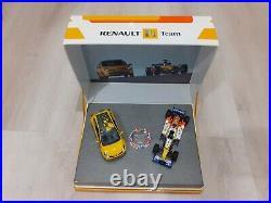 Coffret F1 Team Formule 1 R27 Clio 3 RS 1/43 Renault Sport 2007 World Champion