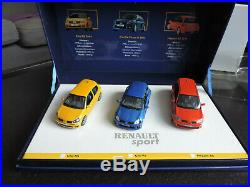 Coffret Renault Sport Renault Clio Rs, V6 Phase 2, Megane Rs Universal Hobbies