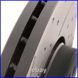 DISQUES DE FREIN PERFORÉS 280mm AVANT POUR RENAULT CLIO 172182 2.0 16V SPORT