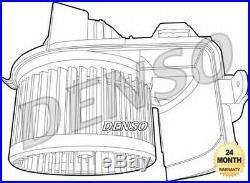 Denso Ventilateur Intérieur pour Renault Clio III 2.0 16V Sport 2008- Sur