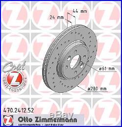 Disque de Frein (2 Pièce) Disque de Frein Sport Coat Z zimmermann 470.2412.52