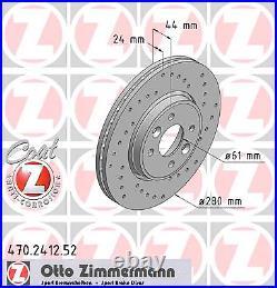 Disque de Frein (2 Pièce) Sport Coat Z Zimmermann 470.2412.52