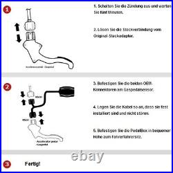 Dte Pedal Box 3S Pour Renault Clio BR0 1 CR0 1 145KW 02 2006- 2.0 16V Sport