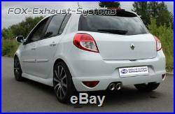Échappement Sport Renault Clio 3 Gt Type R 2x90 Inclinées Avec ABS
