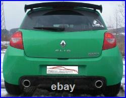 FMS 70mm Duplex Échappement Sport Usine Renault Clio III Rs 06/2009-2013 2.0l
