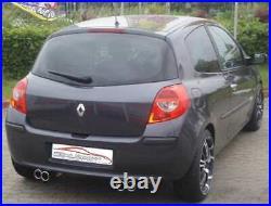 FMS le Sport Échappement Duplex De Montage Pour Renault Clio III