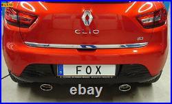 Fox Duplex Échappement Sport Renault Clio 4 X98 0.9l 1.2l 1.5l D Ab Année Fab