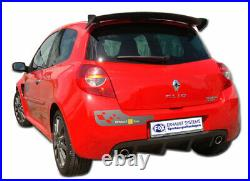 Fox Duplex Silencieux Arrière Chaque 1x76mm pour Renault Clio III B Sport