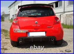 Fox Duplex Silencieux Arrière Chaque 1x90mm pour Renault Clio III B Sport