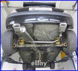 Fox Echappement Sport Duplex Renault Clio 2 à partir de Bj. 99 135x80