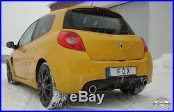 Fox Échappement Sport pour Renault Clio III B Facelift Silencieux