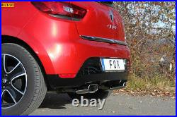 Fox le Sport Échappement Duplex Renault Clio 4 X98 0.9l 1.2l 1.5l D Ab