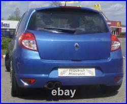 Friedrich Motorsport Échappement Sport pour Renault Clio III Gt