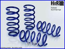 H&r Ressorts de Rabaissement Sport Pour Renault Clio C 2010- VA45/HA45mm