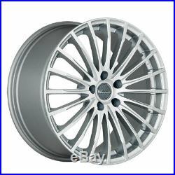 Jantes Roues Mak Fatale 7.5x17 5x108 Et45 Renault Clio Sport Rs Silver Aed