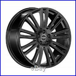 Jantes Roues Psw Austin 9x20 5x108 Et38.5 Renault Clio Sport Rs Gloss Black 2da