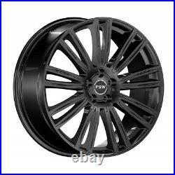 Jantes Roues Psw Austin 9x20 5x108 Et45 Renault Clio Sport Rs Gloss Black 4f1