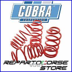 KIT 4 RESSORTS COURTS SPORT COBRA -20mm RENAULT CLIO RS 2.0 16V TÜV