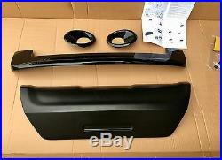 Kit carrosserie sport Noir RENAULT CLIO III ph 2 (becquet+diffuseur+2 antibrd.)