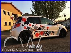 Kit déco Clio RS Renault Sport