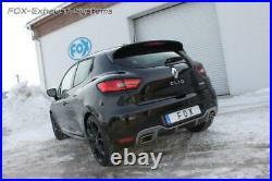 Le Sport Échappement Duplex Renault Clio 4 Rs Droit-Gauche Pour Orig. Tuyau
