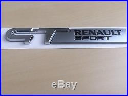 Logo Monogramme Neuf GT RENAULT SPORT d'Origine Megane Twingo Clio Laguna Scenic