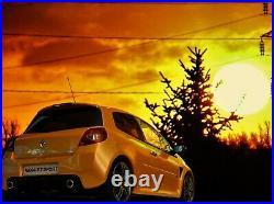 Lot de 2 otto 1/18 Renault Sport Cup clio OT350 et Mégane rs rouge ot751 NEUVE