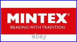 MINTEX Frein Arrière Disques + Set Plaquettes pour Renault Clio II 2.0 16V Sport