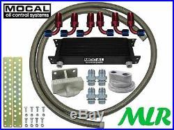 Mocal M20 Huile Refroidisseur Haut Sortie Distance Limes Kit Renault Clio Sport