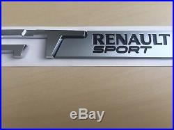 NEUF origine Logo Monogramme GT RENAULT SPORT Clio 4 IV Megane Twingo Captur rs