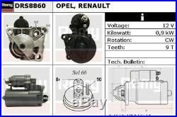 Neuf Démarreur Moteur pour Renault Clio III 2.0 16V Sport 2006- On