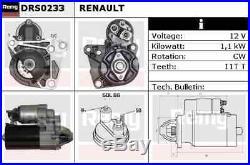 Neuf Démarreur Moteur pour Renault Clio III 2.0 16V Sport 2008- Sur