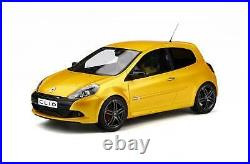 OT350 Renault Clio 3 RS Phase 2 2010 Jaune Sirius renault sport Ottomobile 1/18