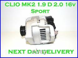 Pour Renault Clio MK2 1.9D 2.0 16v Sport 1997 1998 1999 2000 2001 À Alternateur
