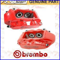 Pour Renault Clio Sport 197 200 Megane Rs 225 230 Etriers de Frein Avant Rouge
