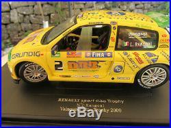 RENAULT SPORT CLIO TROPHY 2000 n° 2 RANGONI VAINQUEUR EAGLES COLLECTIBLES 1/18